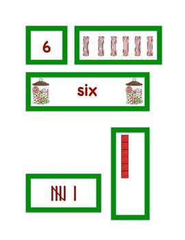 Christmas Candy Number Match