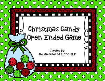 Christmas Candy Open Ended Game