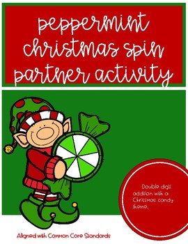 Christmas Candy Spinner Activity