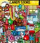 Christmas Candy Store clip art set