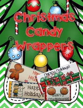 Christmas Candy Wrappers