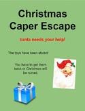 Christmas Caper Escape Digital Breakout