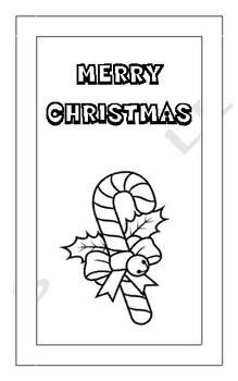 Christmas Card Activity - Jesus Christ is Born - Print and Go!