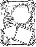 Christmas Card Activity Printable FREE