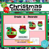 Christmas Card- Create and Decorate, Ornaments