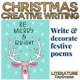 Christmas Card Poem writing lesson