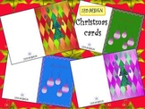 Christmas Cards - Activities - Clipart - different designs
