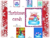 Christmas  Thank You Cards - 17 different designs
