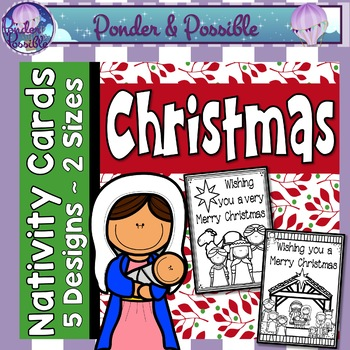 Christmas Cards ~ 2 sizes