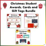 Christmas Cards, Awards, and Gift Tags Bundle