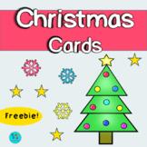 Christmas Cards | Freebie