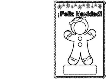 Christmas Cards (Spanish/English)