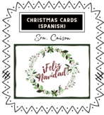 Christmas Cards (Spanish)- Tarjetas de Navidad