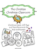 Christmas Cards and Gift Tags for Christian Classroom