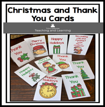 Christmas Cards and Thank You Notes