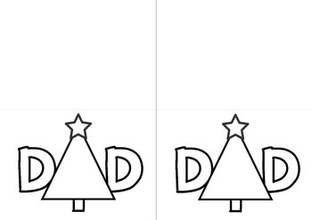 Christmas Cards for Parents - Mom & Dad