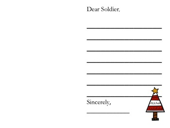 Christmas Cards for Veterans or Soldiers