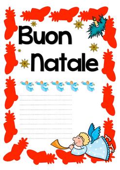 Christmas Cards in Italian (Buon Natale - Merry Christmas)