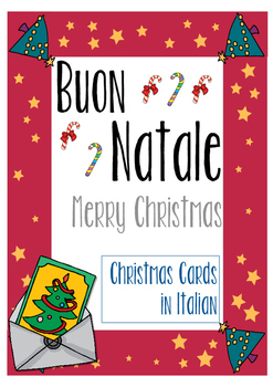 Christmas Cards in Italian (Buon Natale - Merry Christmas)