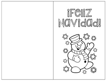 Christmas Cards in Spanish