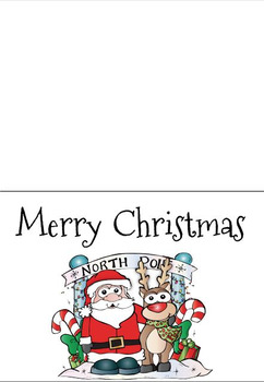 Christmas Cards to share, Colour and Create!