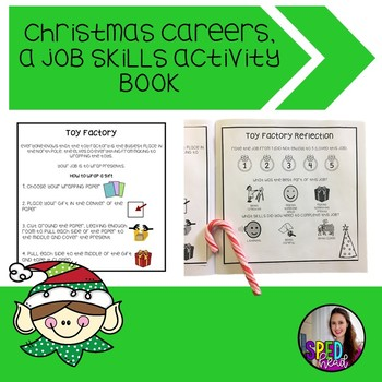 Christmas Careers; a Job Skills Activity Book