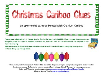Christmas Cariboo Clues