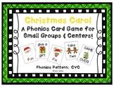 Christmas Carol! ~ A December CVC Phonics Card Game