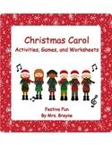 Christmas Carol Activities