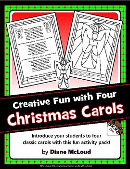 Christmas Carol Creative Fun with Four Classics!