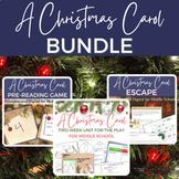 A Christmas Carol BUNDLE for the Play version   Digital an