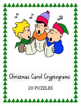 Christmas Carol Cryptograms