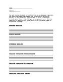 Christmas Carol Figurative Language Headline Activity/Project