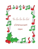 Christmas Carol Games - Name That Carol!