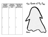 Christmas Carol Ghosts of Your Past Activity