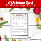Christmas Carol Kindness Bingo 3 Cards