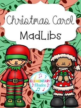 Christmas Carol MadLibs