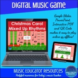 Christmas Carol Mixed Up Rhythms | Digital Music Game