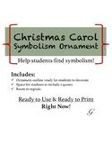 Christmas Carol Ornament Symbolism