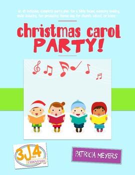 Christmas Carol Party Theme Day Plan