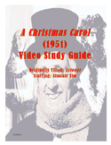 A Christmas Carol/Scrooge (1951) Video Study Guide UPDATE 2017