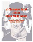 A Christmas Carol/Scrooge (1951) Video Study Guide UPDATE 2017