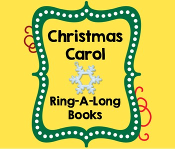 Christmas Carol Sing A Long Books for Handbells, Chimes, Boomwhackers