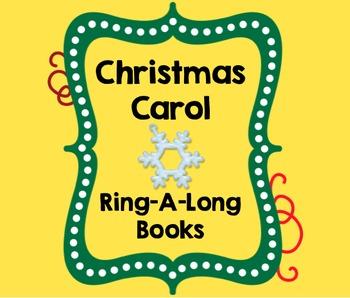 Christmas Carol Sing A Long Books for Handbells, Chimes, B