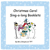 Christmas Carol Sing-a-long Booklets