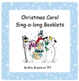 Christmas Carol Sing-a-long Booklets