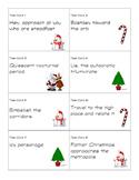 Christmas Carol Task Cards