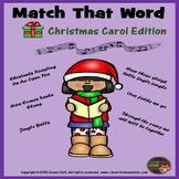 Christmas Carols - Word Match