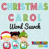 Christmas Carol Word Search