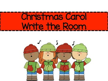 Christmas Carol Write the Room